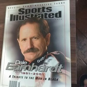 Sport's illustrated magazine Dale Earnhardt Sr